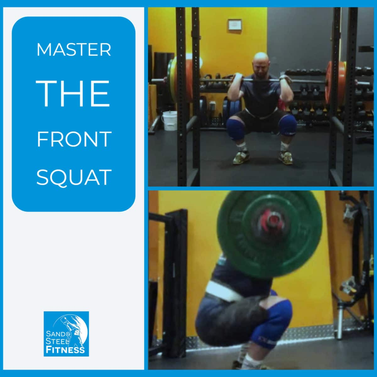 CrossFit Front Squat Olympic lifting