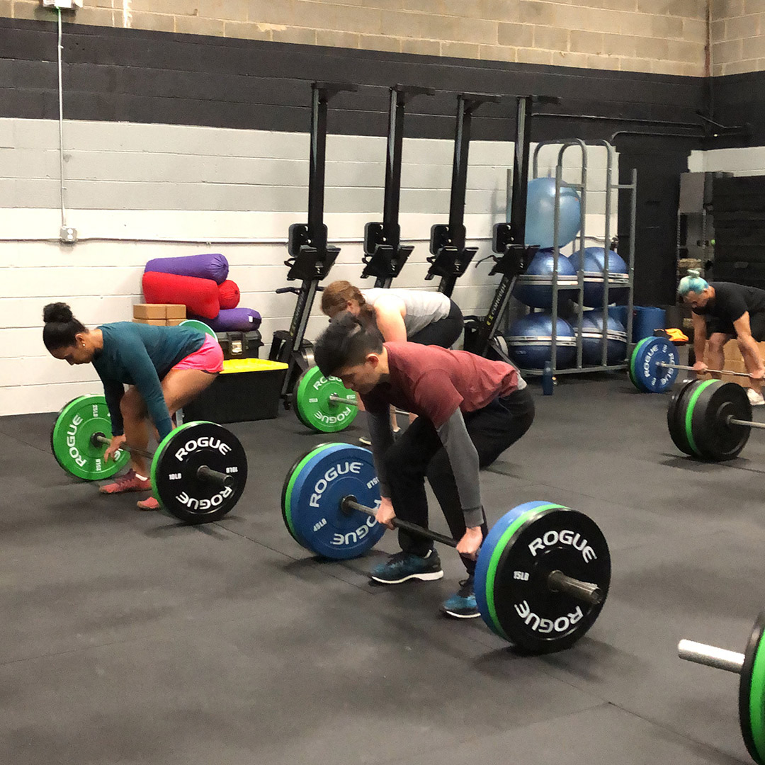 Group Fitness Powerlifting CrossFit Mobility Class