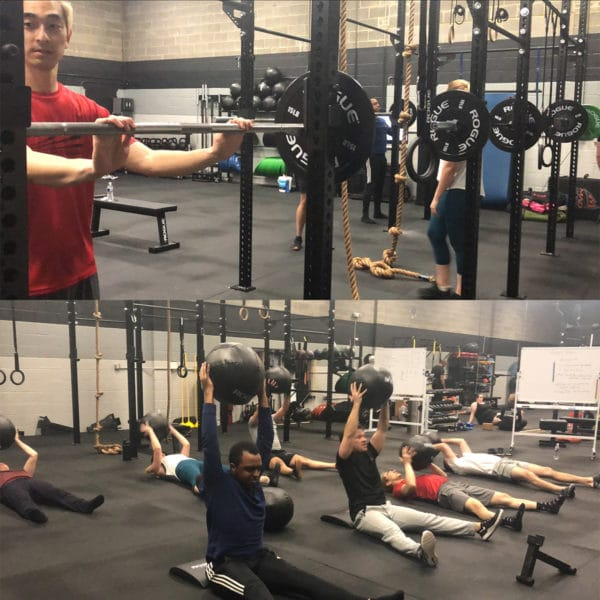 Powerlifting and CrossFit Class