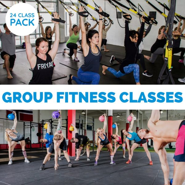 24 Class Pack Group Classes