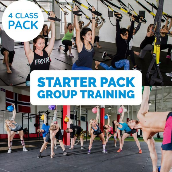 Starter Pack Group Fitness Classes 4 Pack