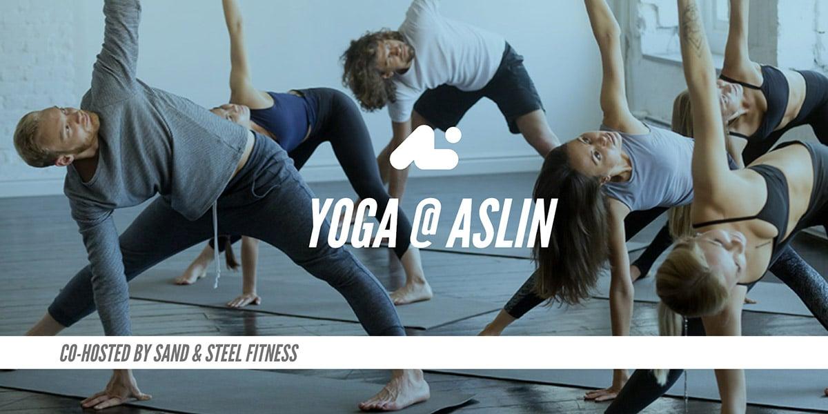 Yoga @ Aslin
