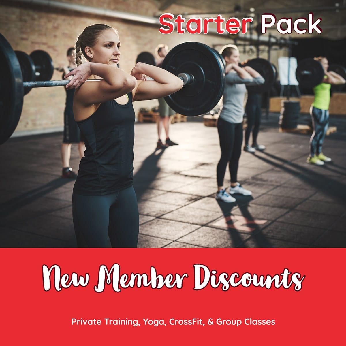 New Member Discounts
