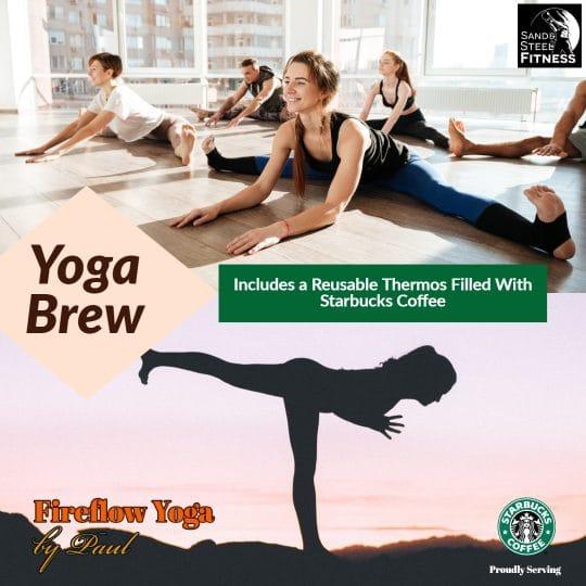 Yoga Brew Event Fireflow