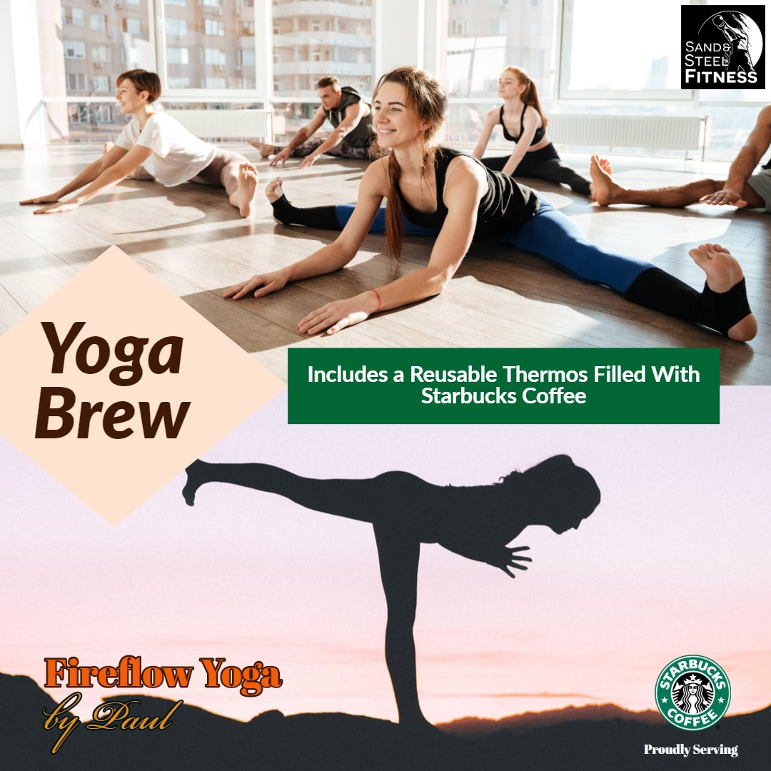 Yoga Brew Event Fireflow