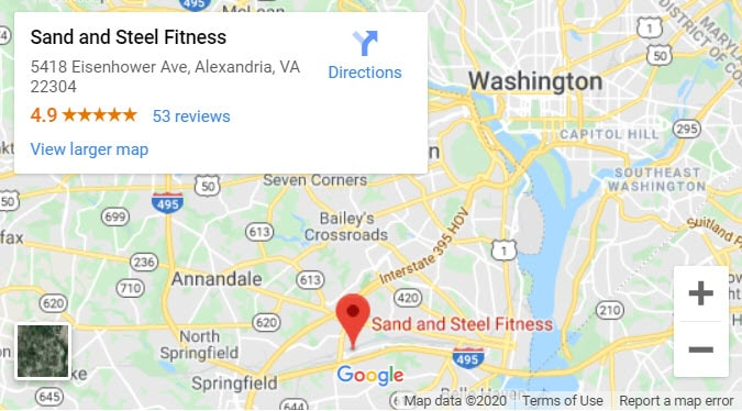 Personal Training Near Me Map 3