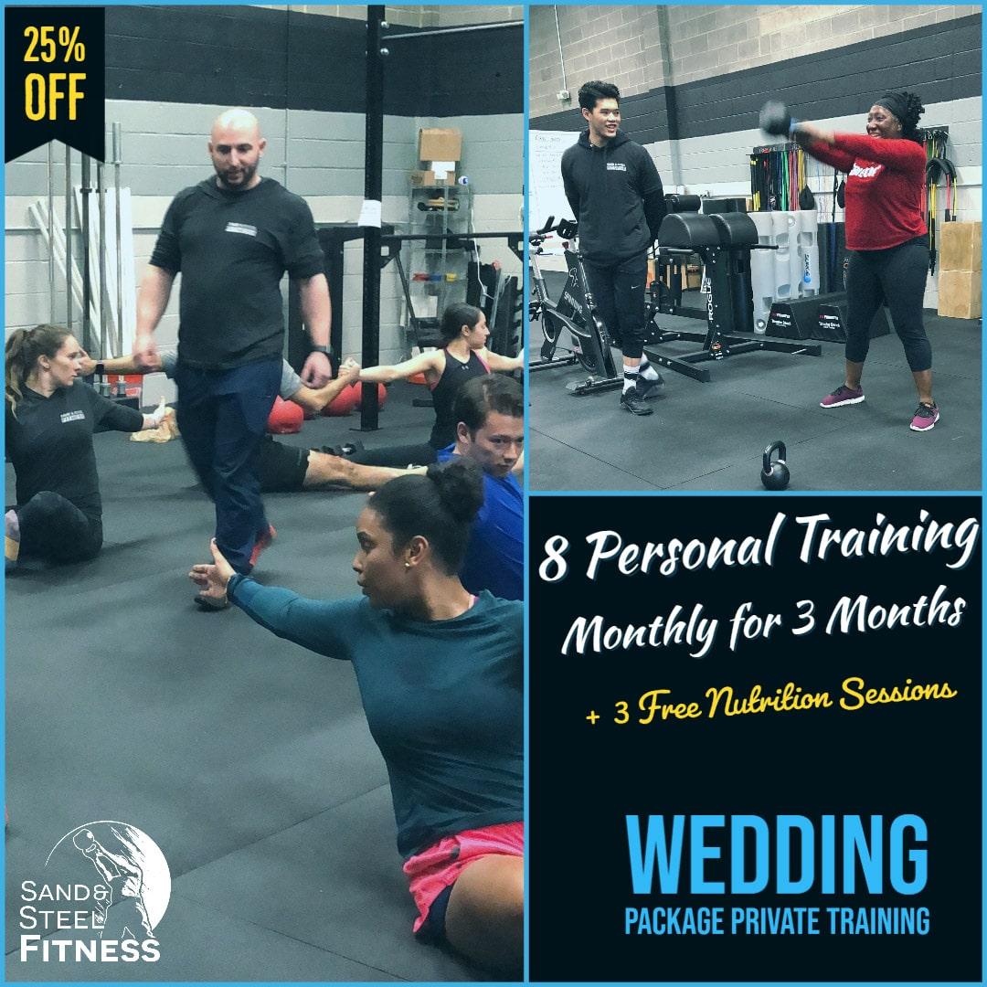 Wedding Workout Plan Private Training