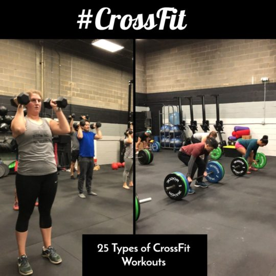 25 Types of CrossFit Workouts
