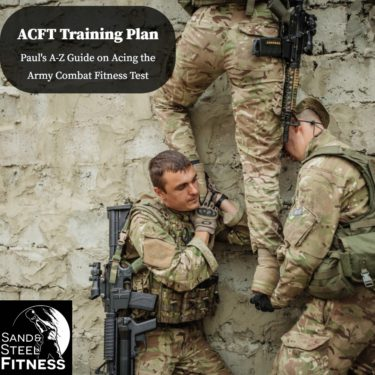 ACFT Army Combat Fitness Test Training Plan