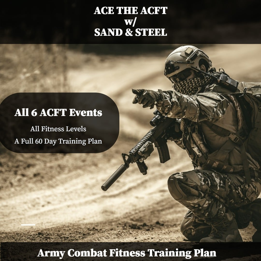 ACFT Workout Plan