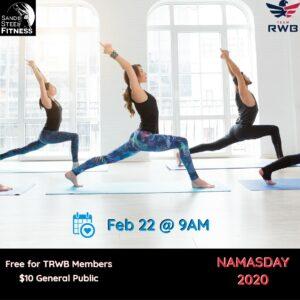 Free Yoga Class – Namasday 2020 for Team RWB
