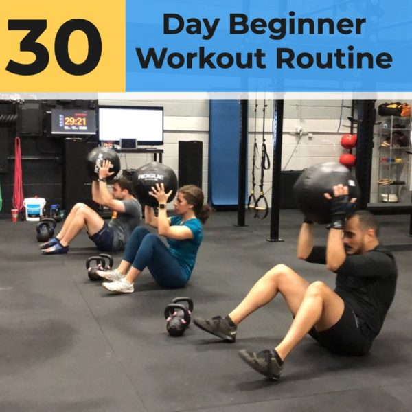 30 Day Beginner Workout Routine