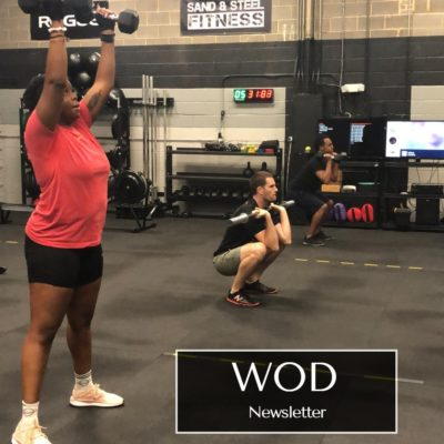 WOD Newsletter Workout of the Day