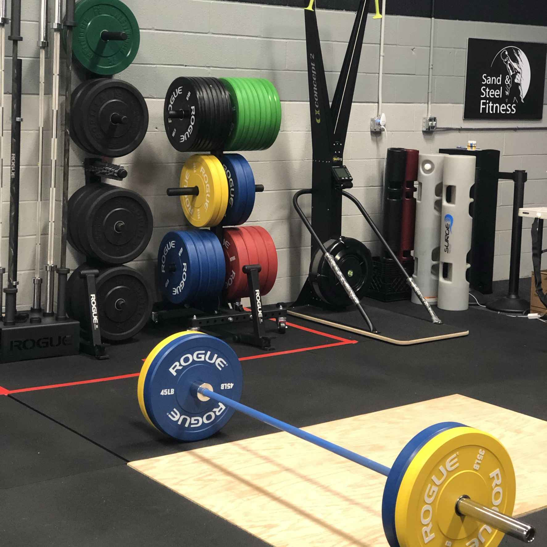 Barbell Club By Sand and Steel Fitness Opt