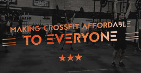 CrossFit Gym Cost Affordable Cheap