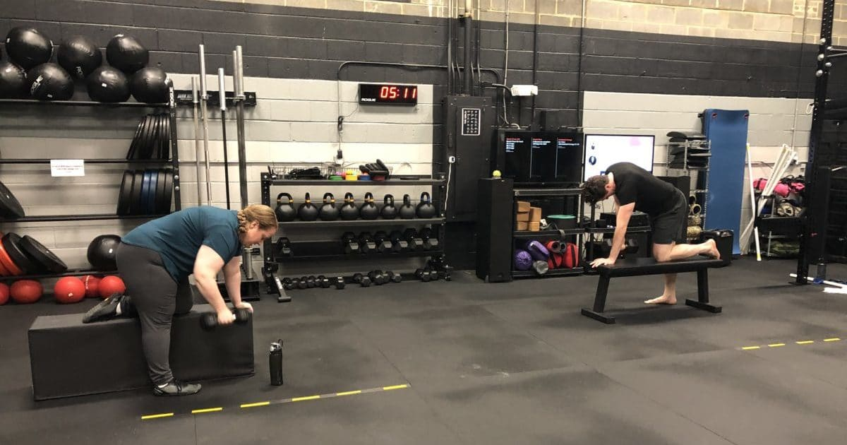 Social Distancing in a CrossFit Gym Northern Virginia
