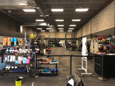 SSG Gym Front Northern Virginia