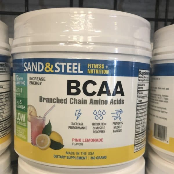 BCAA Branched Chain Amino Acids Pink Lemonade