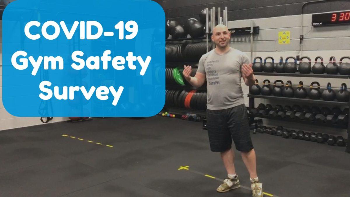 COVID-19 Gym Safety Survey