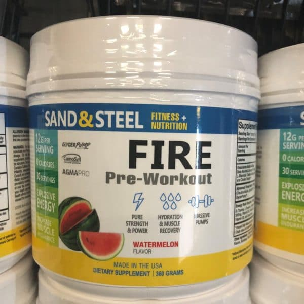 Fire Preworkout Watermelon