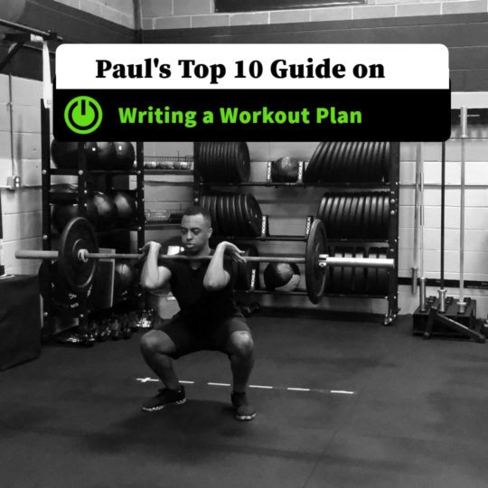 Top 10 Guide on Writing a Workout Plan