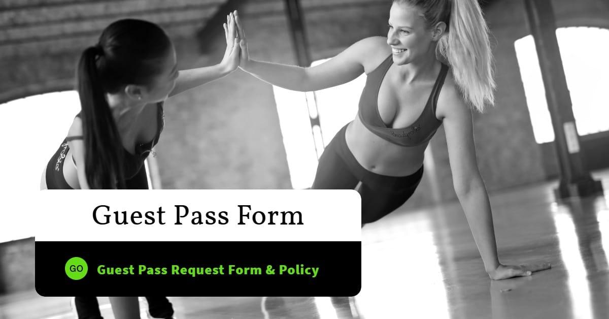 Guest Pass Form