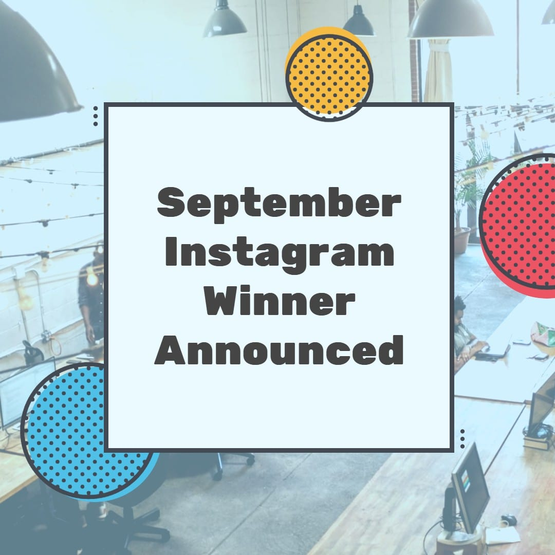 September Instagram Winner Announced