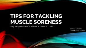 Tips For Tackling Muscle Soreness