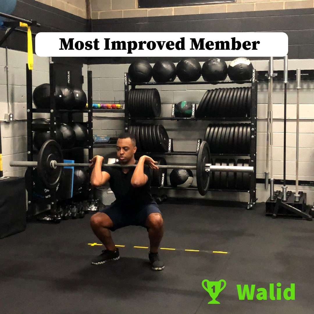 Walid Barbell Clean