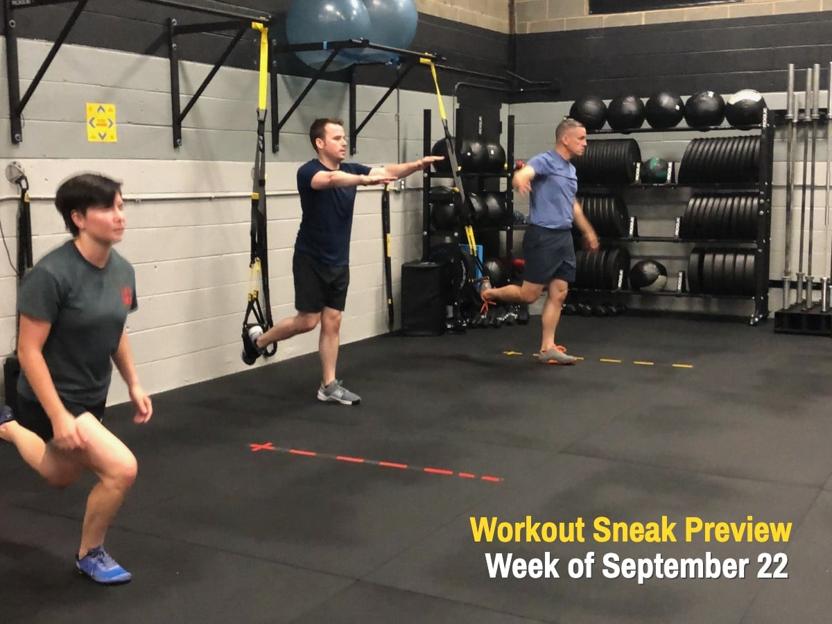 Workout Sneak Preview September 22