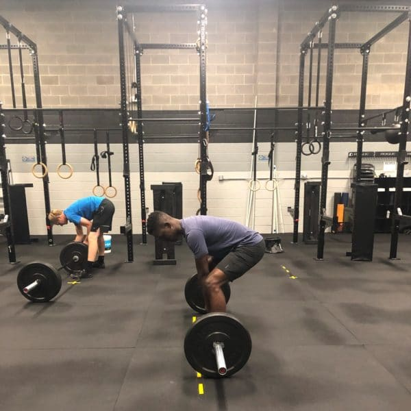 Deadlift and Rogue Fitness Barbell Rig