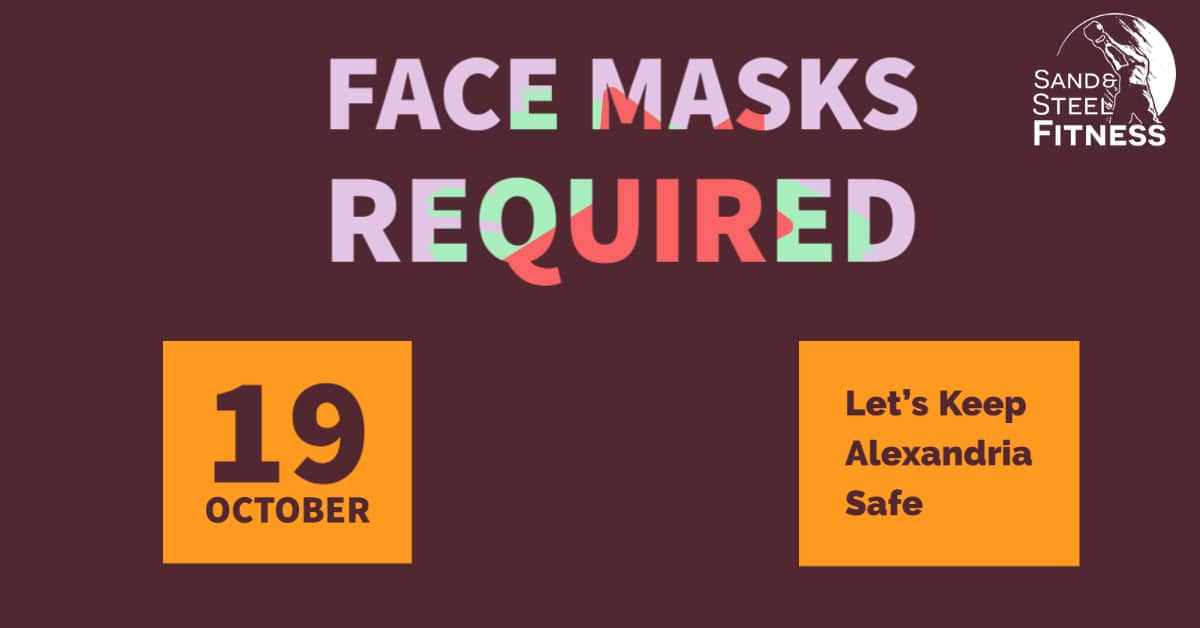 Face Masks Required FB