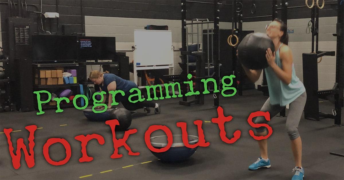 Programming Workouts