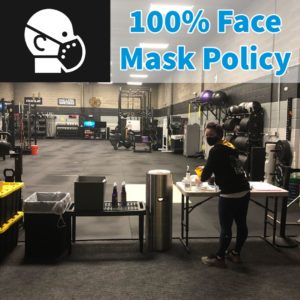 100% Face Mask Policy V3