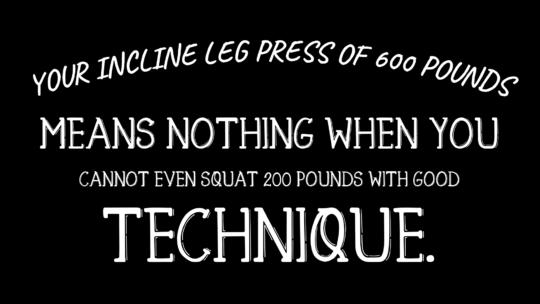 Back Squat Quote