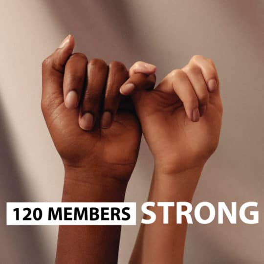 120 Members Strong