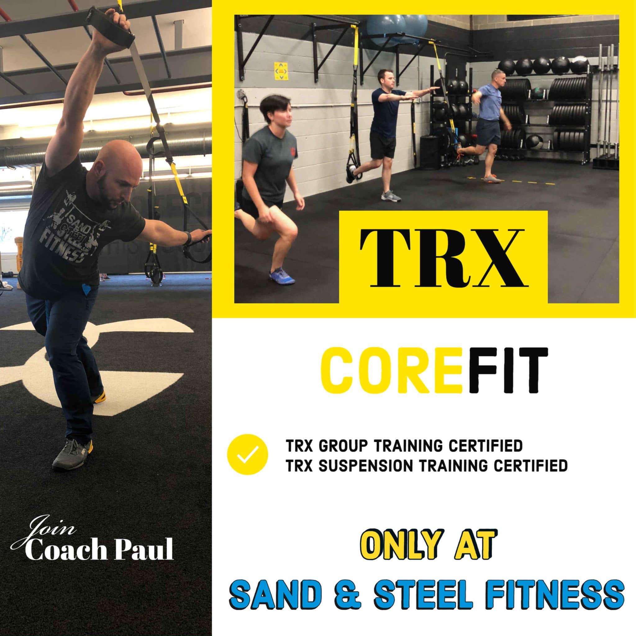 CoreFit TRX Group Certified Optimized
