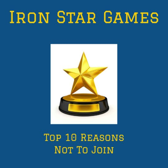 Iron Star Games Excuses Opt