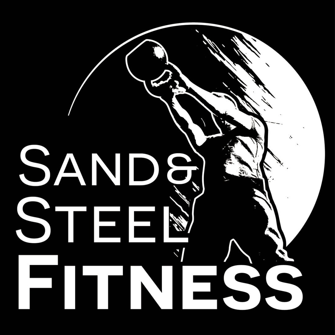 Sand and Steel Power Surge Square Logo