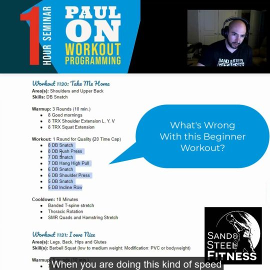 Personal Training Programming for Beginners