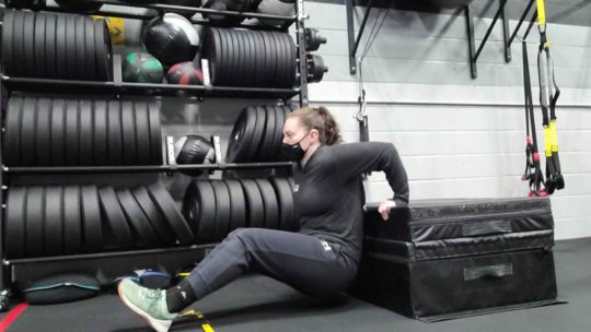 Box Dips for Strength Workout Plans