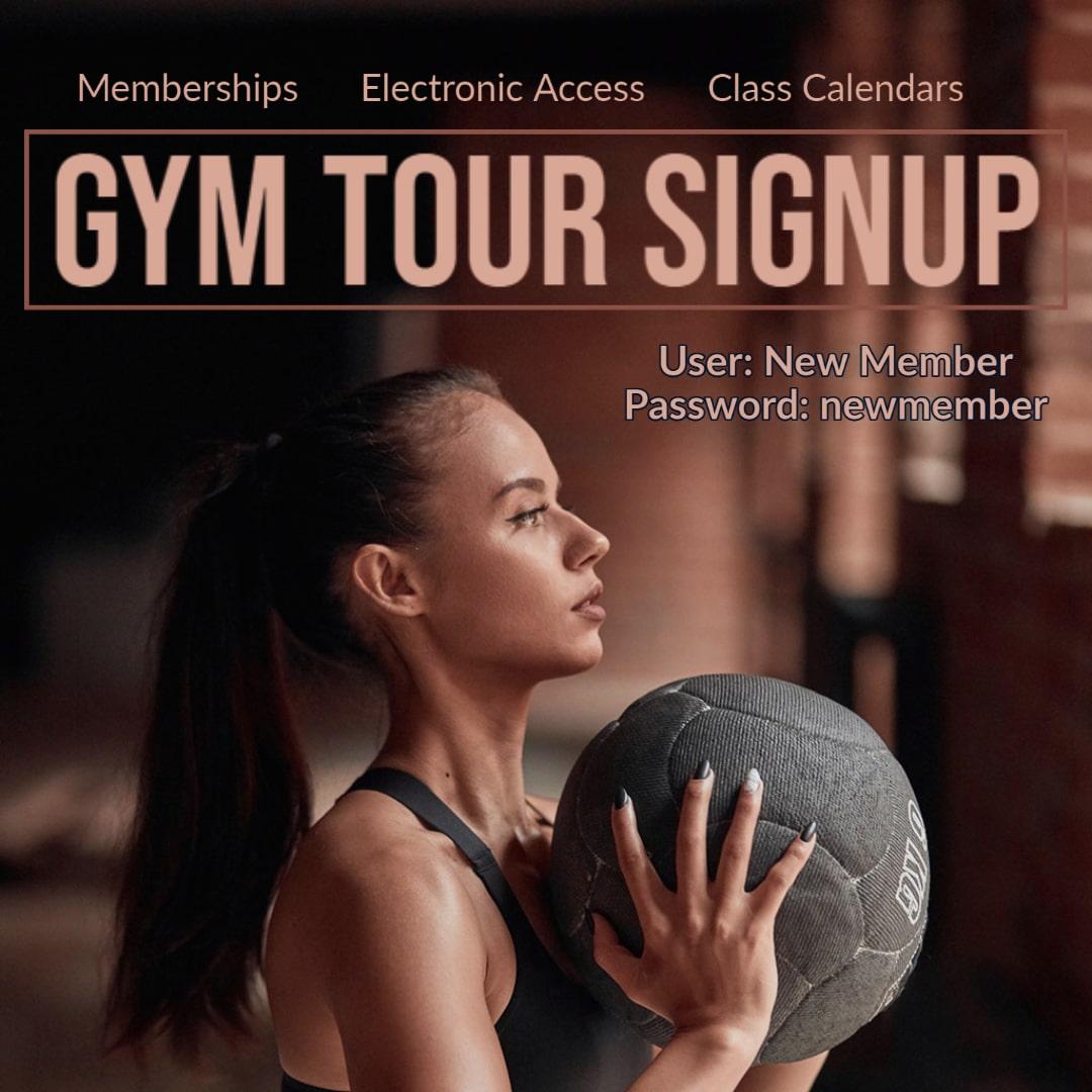 Gym Tour Agenda