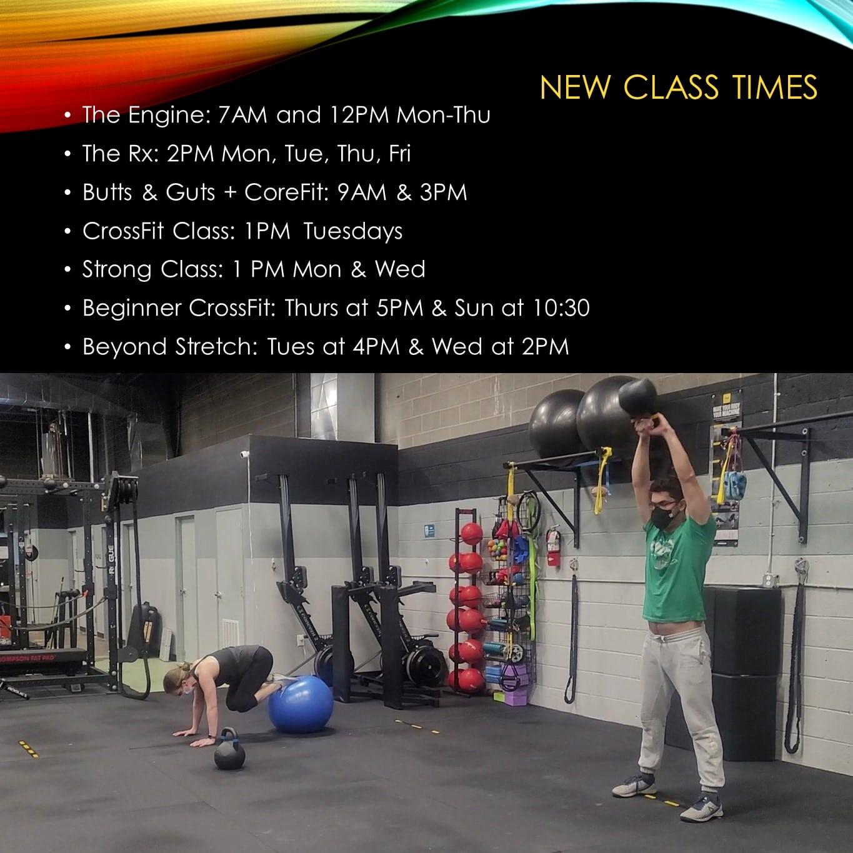 New Classes