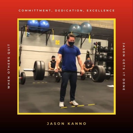 Most Improved Athlete Jason Kanno