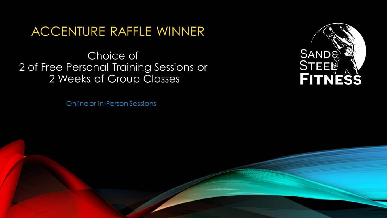 Accenture Raffle Winner