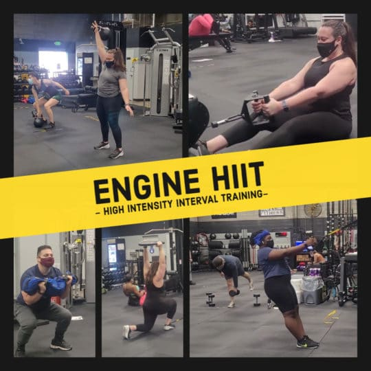 Engine HIIT Class <br> High-Intensity Interval Training