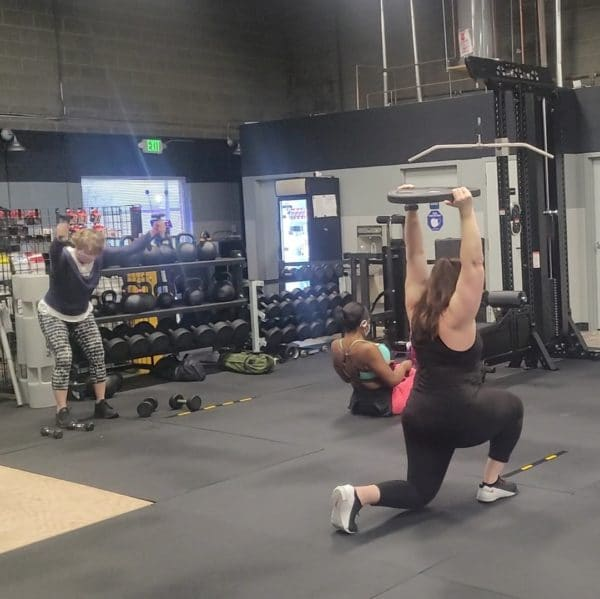 The Engine - Walking Lunges, Row, Y's