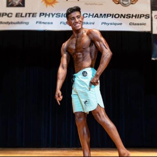 Bodybuilding Show Shot