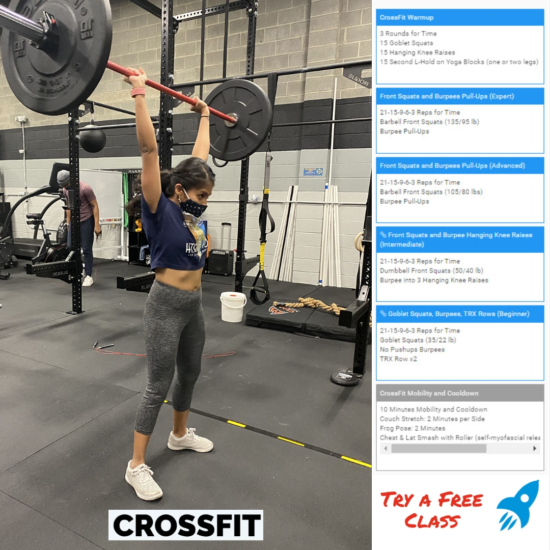 CrossFit Metcon Class Scaling Example
