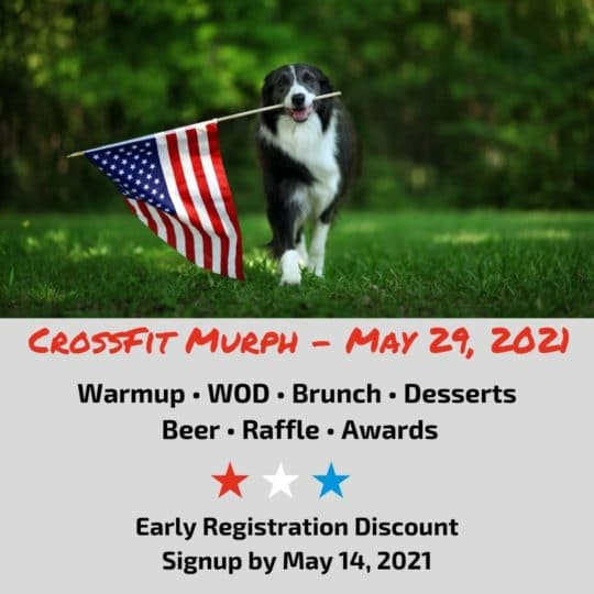 CrossFit Murph - May 29, 2021 (1)